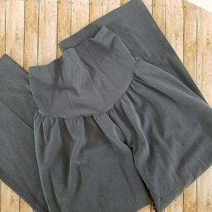Motherhood slacks have full 9 inch waist panel